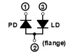 HL65261MG Internal Circuit