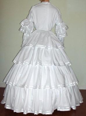 19th Century 1800s Ladies Formal  Ball Dresses