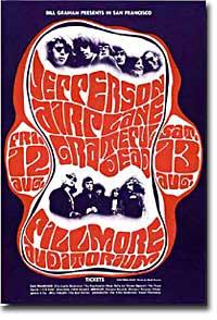 Grateful Dead concert poster
