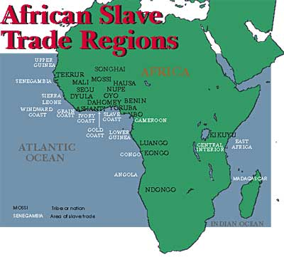 African slave trade nations