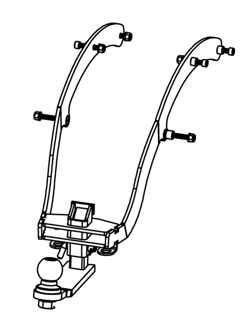 Kawasaki Voyager 1700 Hitch: All Years