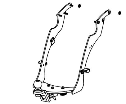 Harley Street Glide Hitch: 2010 to 2013
