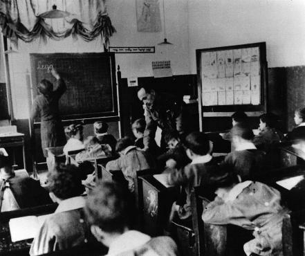 classe d'école