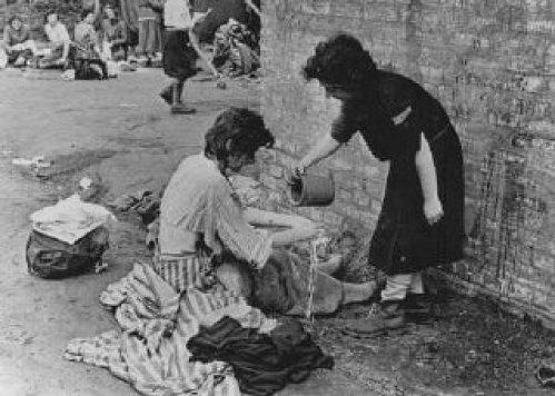 Resultado de imagen de niños judios gueto