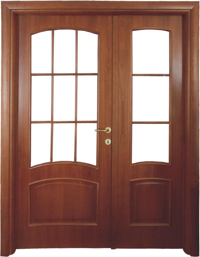 Usa de interior din lemn cu geam model A83-2K