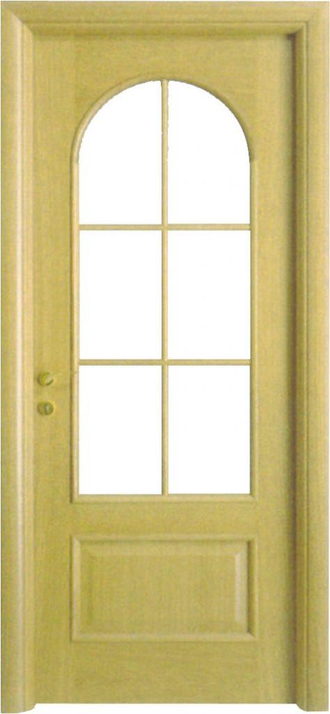 Usa de interior din lemn cu geam model A86