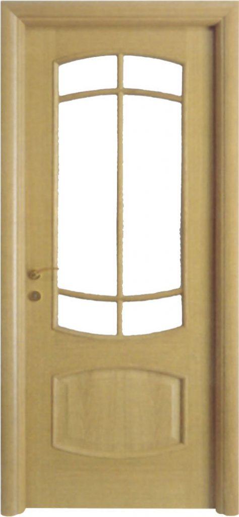 Usa de interior din lemn cu geam model A87