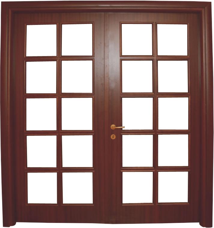 Usa de interior din lemn cu geam model ASP1-2K