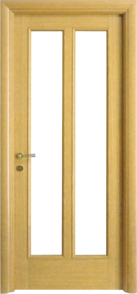 Usa de interior din lemn cu geam model ASP2-4