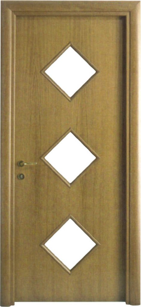 Usa de interior din lemn cu geam model ASP2