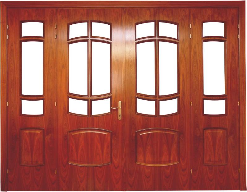 Usa de interior din lemn cu geam model ASP68-4K