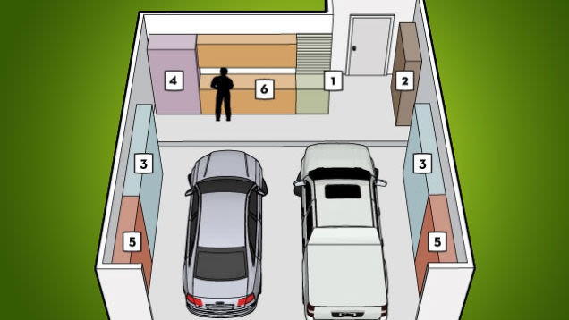 Idei de amenajare a garajului
