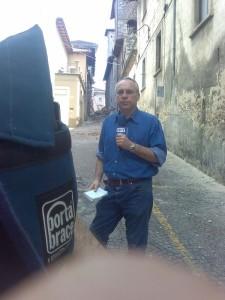 Dimitri Deliolanes, giornalista, corrispondente  dell'ERT dall'Italia