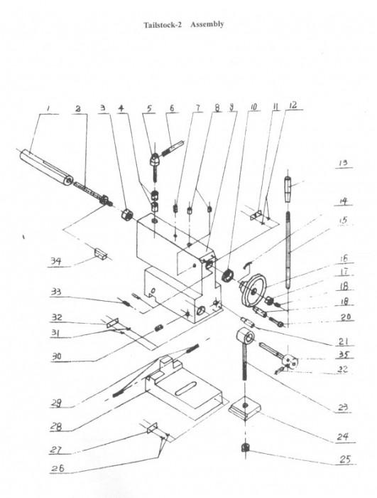 Problème avec poupée mobile sur RC 6123x750 (résolu