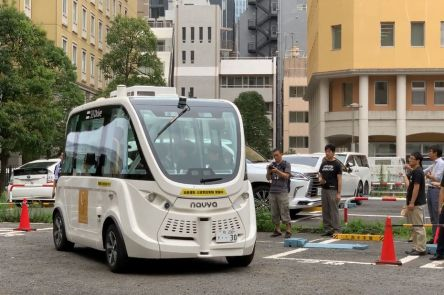 Navya et Bluebus réfléchissent au développement d'un bus autonome