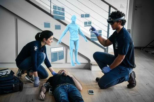 Nomadeec met la réalité augmentée au service du SAMU