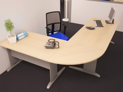 bureau d angle corporate pratique