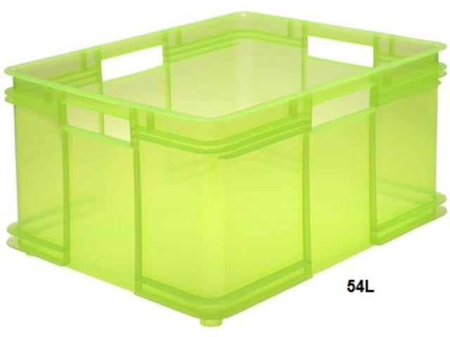 bac plastique empilable euro box xxl 54 litres