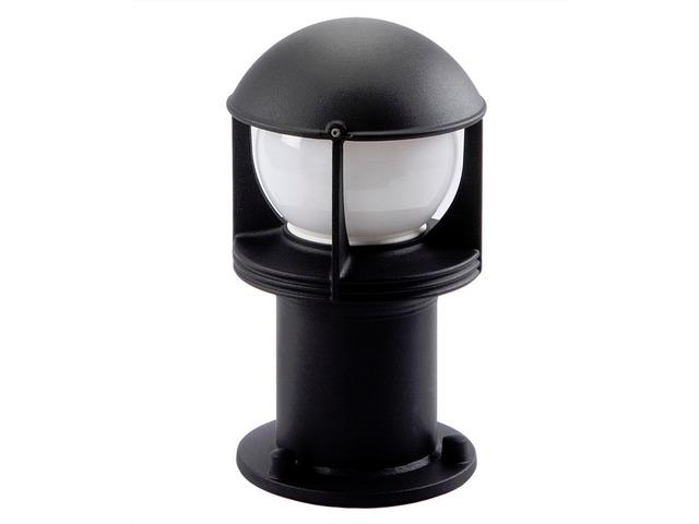 Borne dclairage dextrieur OPUS R Noir E27  Contact SG LIGHTING SANV
