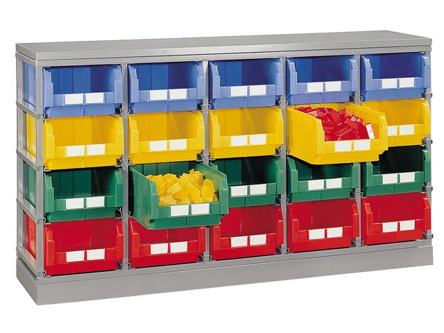 rack rangement pour 20 bacs a bec 28 litres de la marque setam