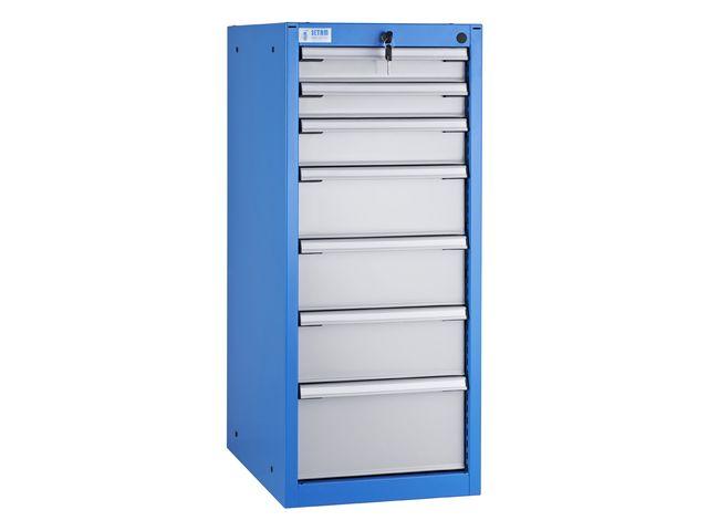 armoire d atelier 7 tiroirs etroits l 42 x p 60 cm de la marque setam