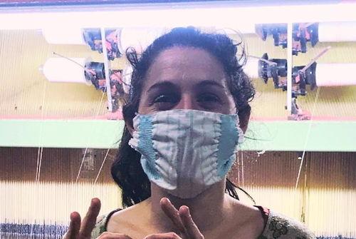 des masques en tissu bio lavables
