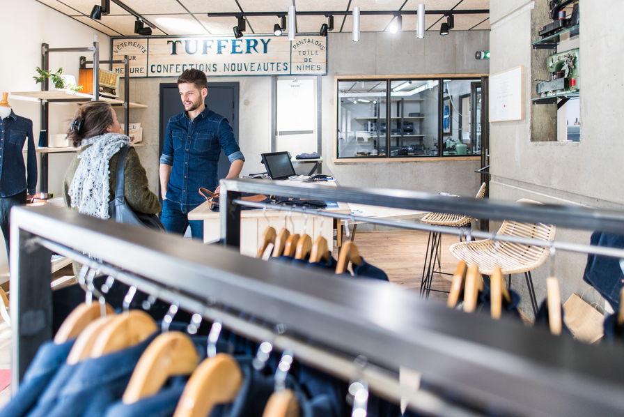 atelier de jeans tuffery fabrique
