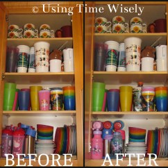 Kitchen Cabinet Organization Black And White Table Organizing Archives  Using Time Wisely