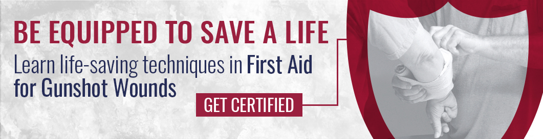 First Aid for Gunshot Wounds 2A Institute