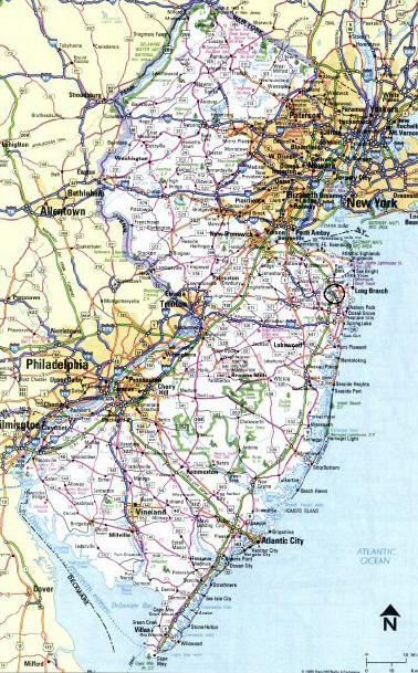 new jersey map towns