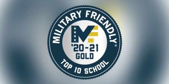 Military Friendly: Top 10 Schools