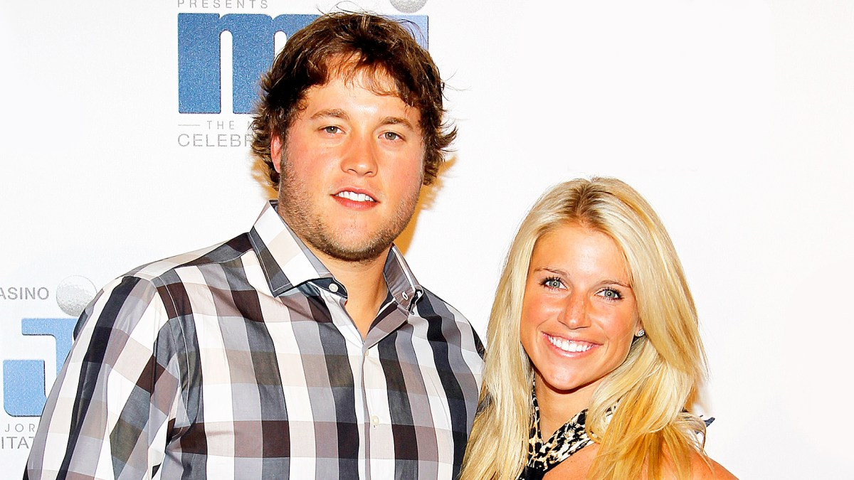 Nfl Star Matthew Stafford Wife Kelly Welcome Twins
