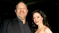 Harvey Weinstein and Rose McGowan