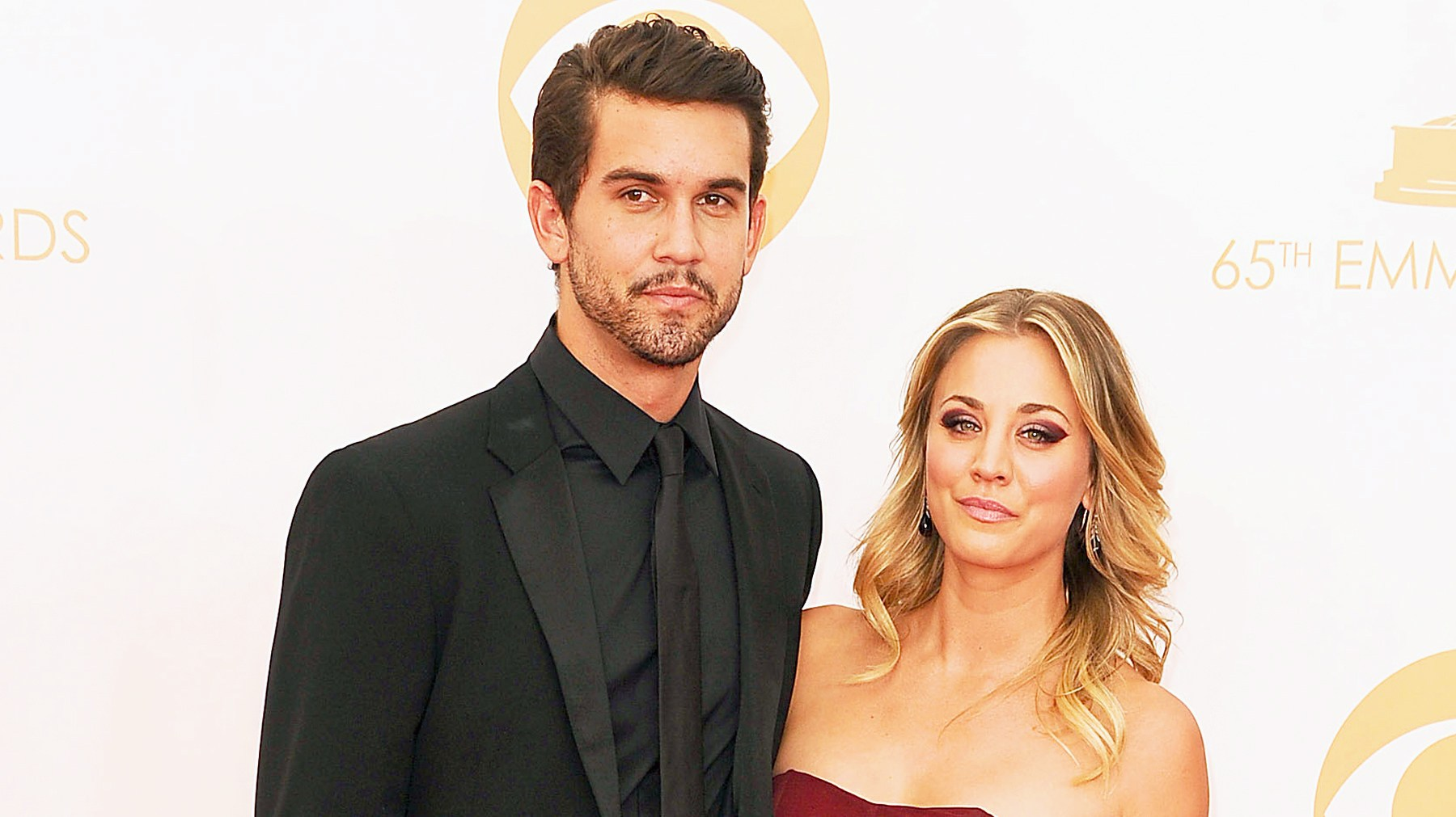 Ryan Sweeting and Kaley Cuoco.