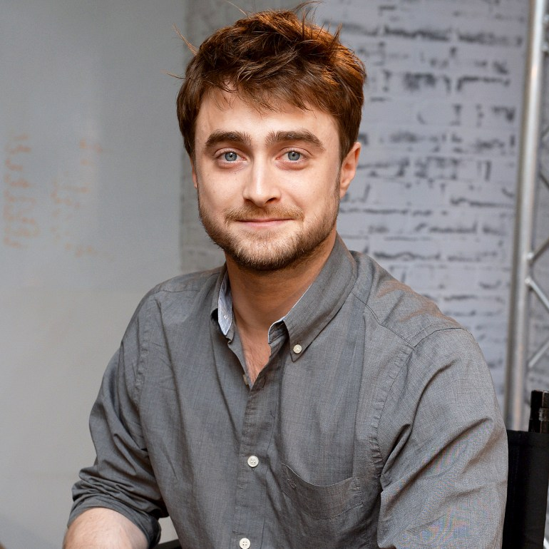 Daniel Radcliffe attends AOL's BUILD series LONDON at AOL London on September 20, 2016 in London, England.