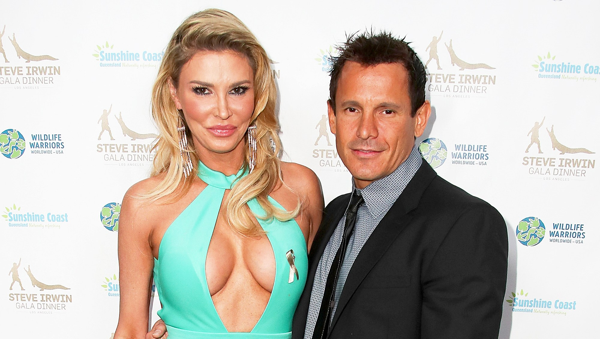 Brandi Glanville and Donald Friese attend the Steve Irwin Gala Dinner at the SLS Hotel at Beverly Hills on May 13, 2017 in Los Angeles, California.