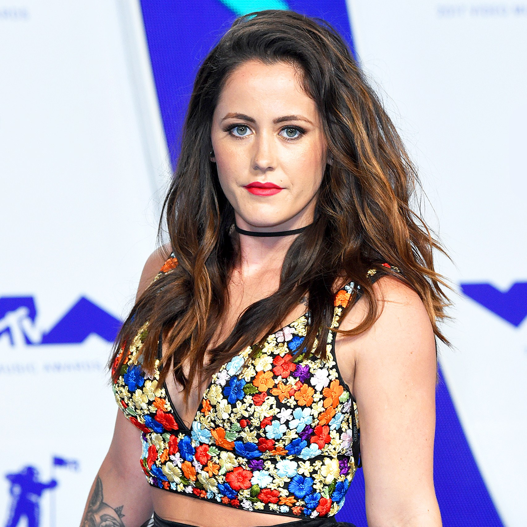 Jenelle Evans attends the 2017 MTV Video Music Awards at The Forum on August 27, 2017 in Inglewood, California.