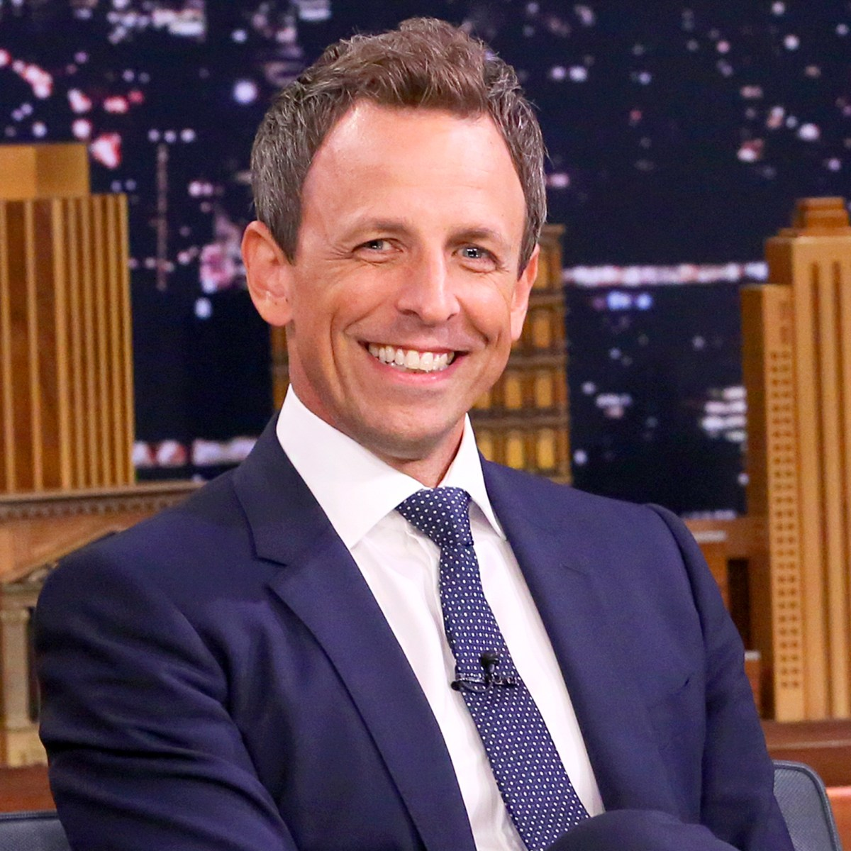 Seth Meyers on the Tonight Show starring Jimmy Fallon on September 11, 2017.