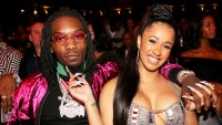 Offset and Cardi B attend the 2017 BET Hip Hop Awards on October 6, 2017 in Miami Beach, Florida.