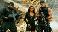 Gabrielle Union, Martin Lawrence and Will Smith in 'Bad Boys II'