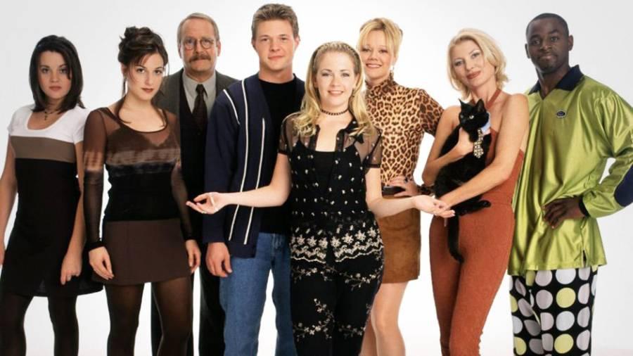 Sabrina the Teenage With - cast photo