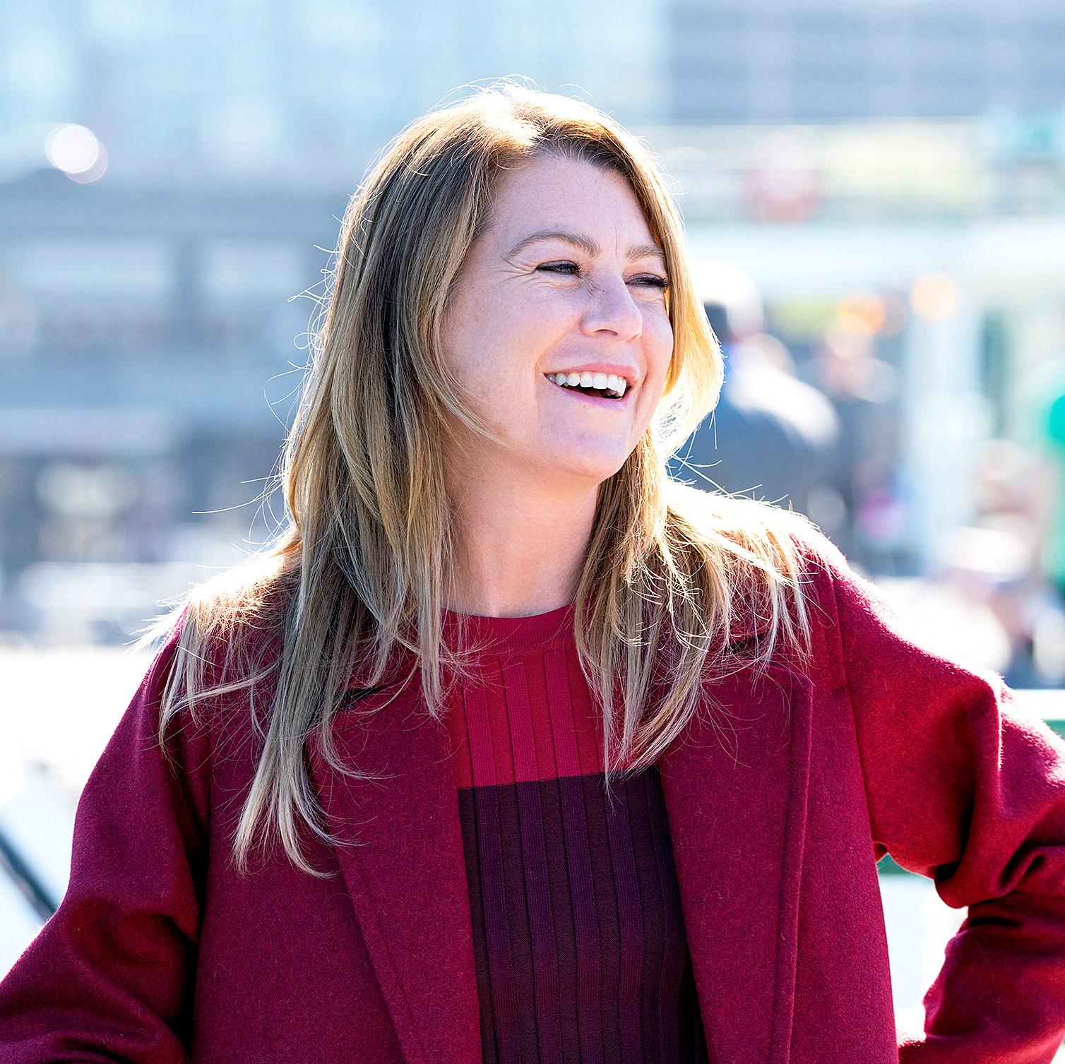 Ellen Pompeo as Meredith on 'Grey's Anatomy'