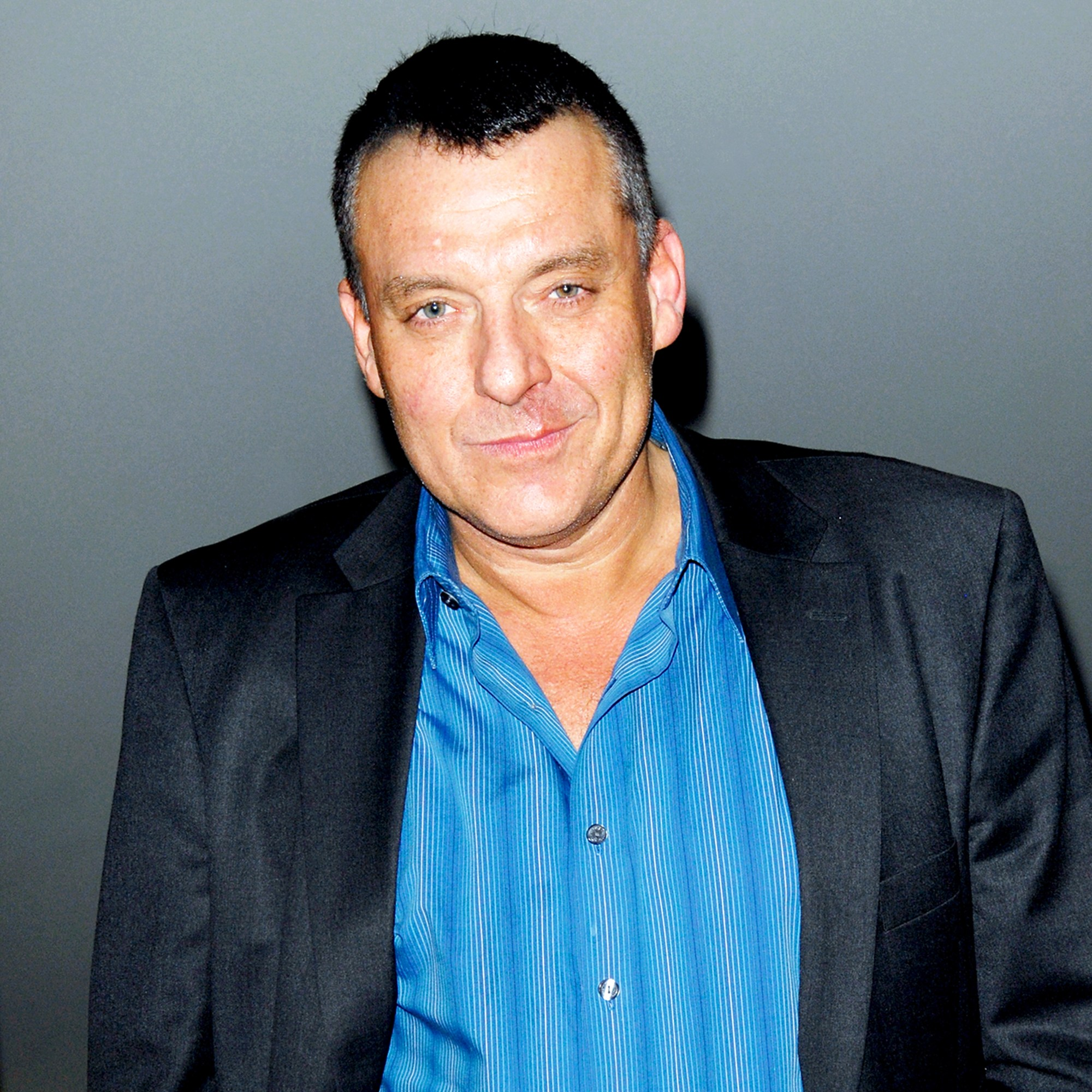 """Tom Sizemore attends the """"Genius On Hold"""" screening and Q&A at Landmark Nuart Theatre in Los Angeles, California."""