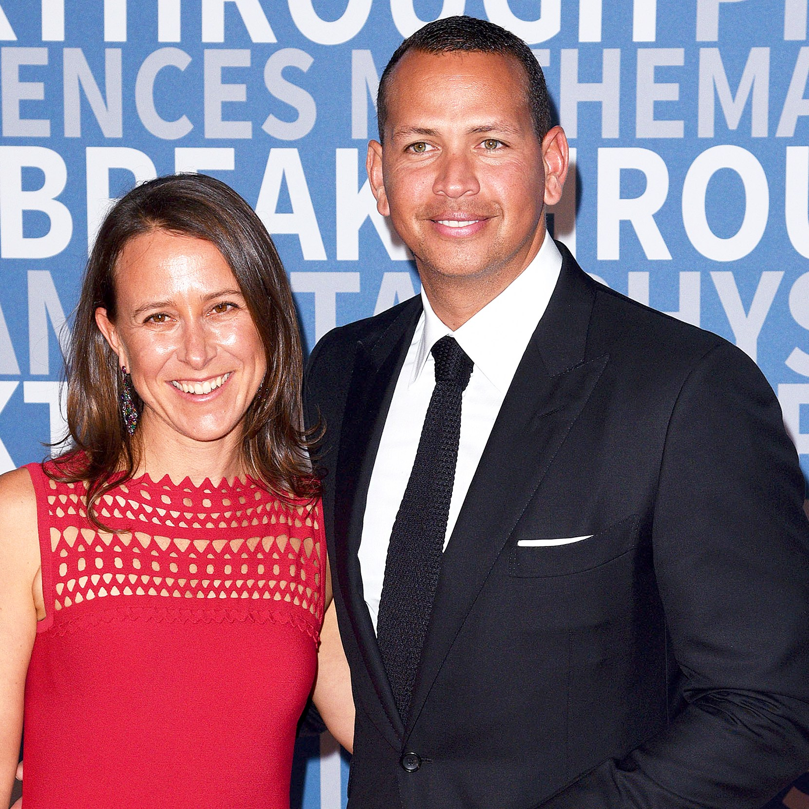 Anne Wojcicki and Alex Rodriguez attend Breakthrough Prize at NASA Ames Research Center in Mountain View, California.