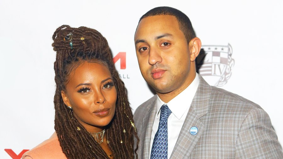 Eva Marcille and Michael Sterling attend the 9th Annual Celebration 4 Cause at King Plow Arts Center on December 22, 2016 in Atlanta, Georgia.