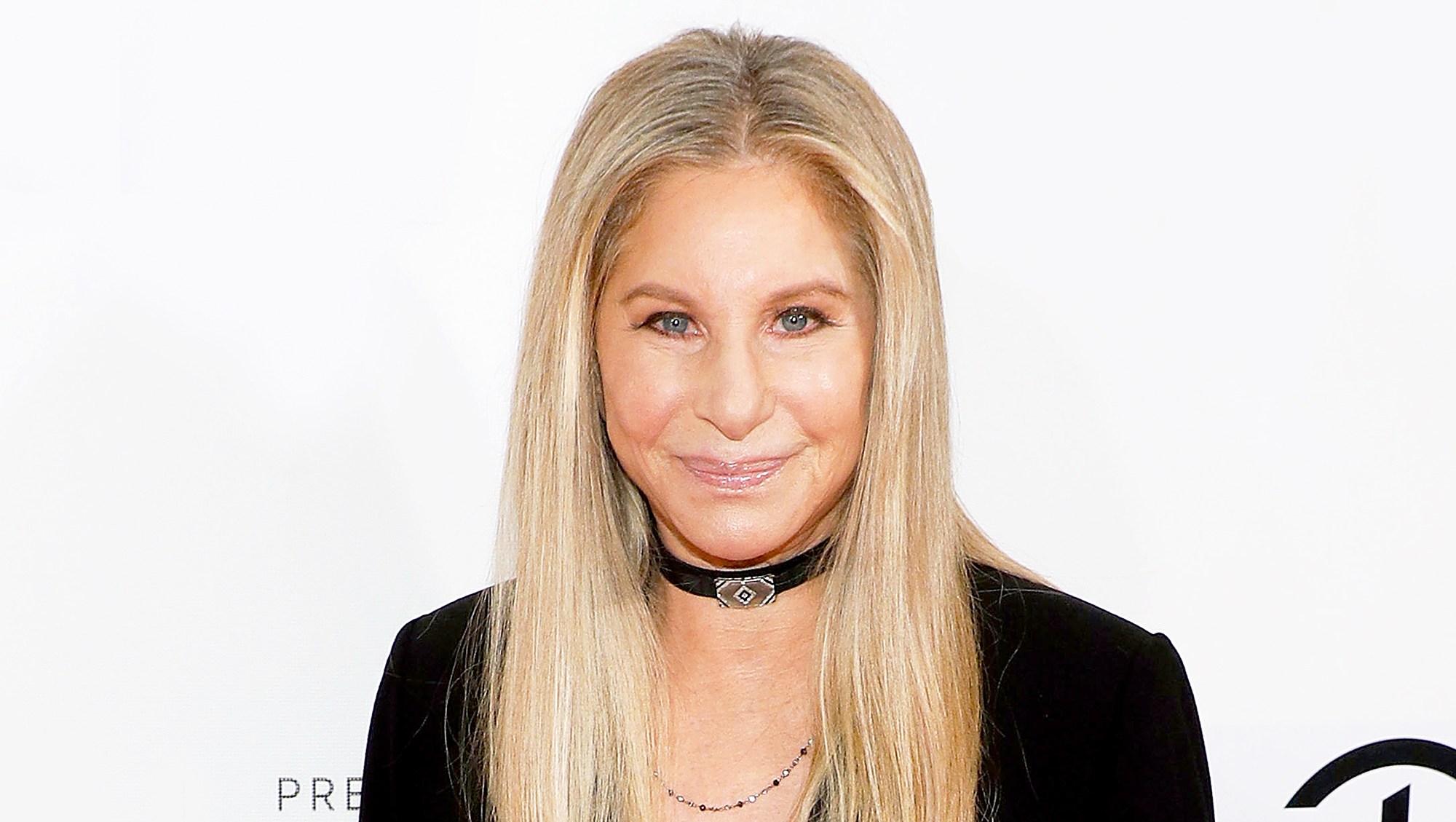 "Barbra Streisand attends ""Tribeca Talks: Storyteller"" during the 2017 Tribeca Film Festival at Borough of Manhattan Community College in New York City."
