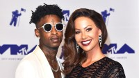 21 Savage and Amber Rose attend the 2017 MTV Video Music Awards at The Forum in Inglewood, California.