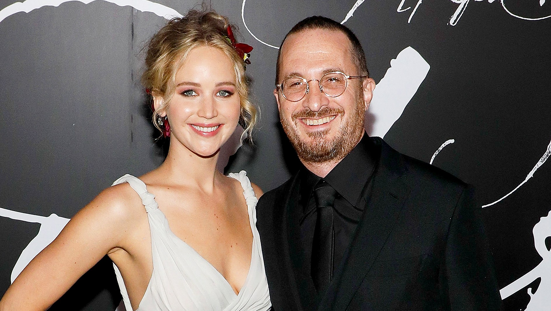 "Jennifer Lawrence and director Darren Aronofsky attend the premiere of ""mother!"" at Radio City Music Hall on September 13, 2017 in New York City."
