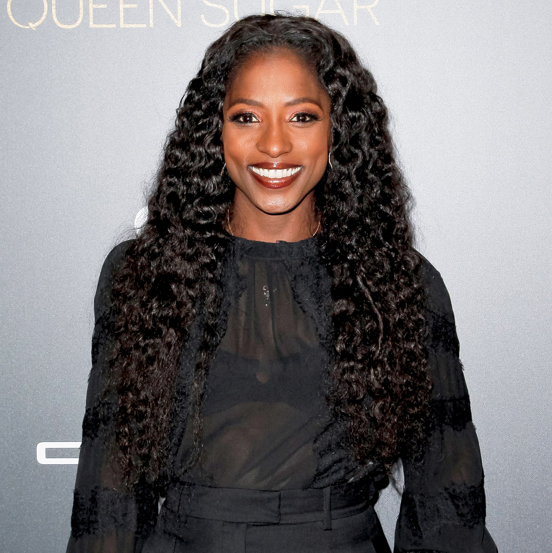 "Rutina Wesley attends the taping of ""Queen Sugar After-Show"" at OWN Oprah Winfrey Network in West Hollywood, California."