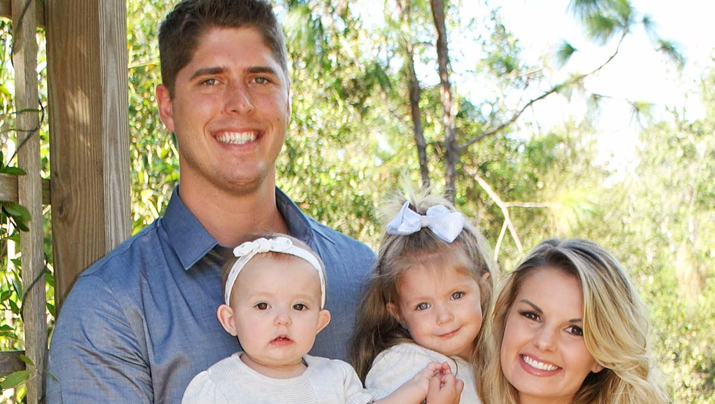 Alyssa Webster John Webster Bringing Up Bates baby announcement